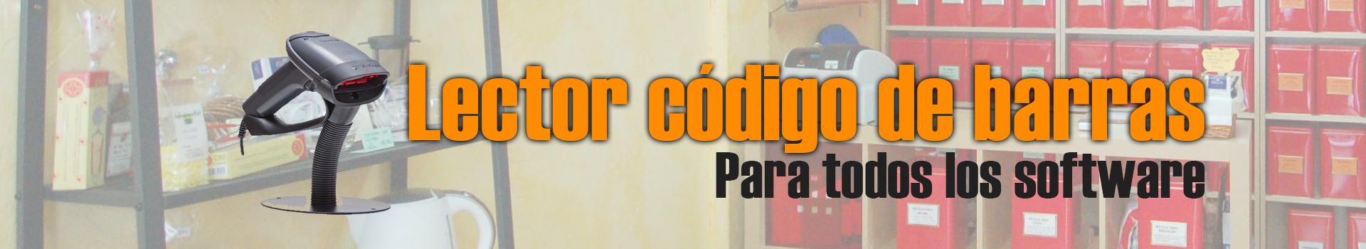 Lector código de barras